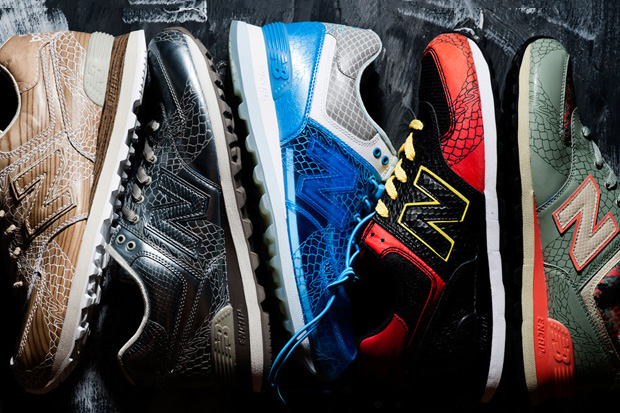 "New Balance 574 ""Dragon"" Pack"