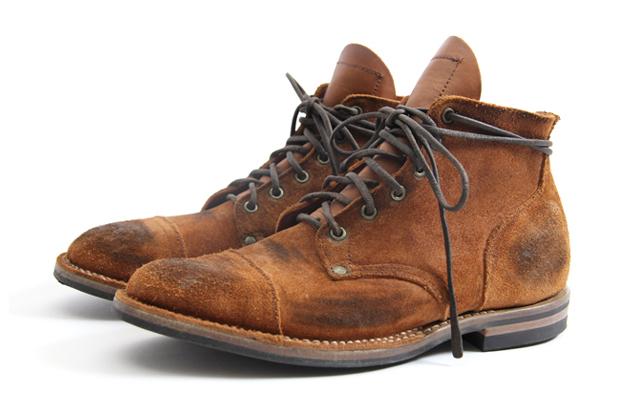 Nigel Cabourn x Viberg 2012 Service Boot