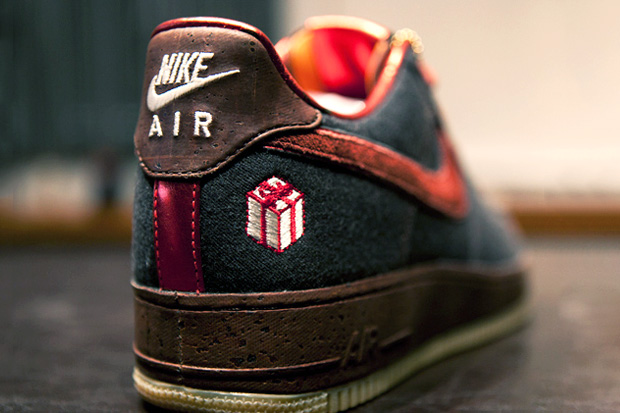 nike air force 1 the gift further look