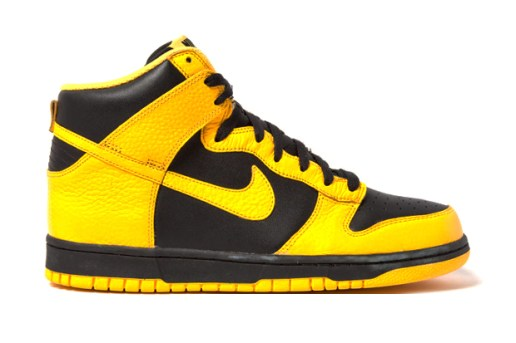Nike Dunk High Black Maize