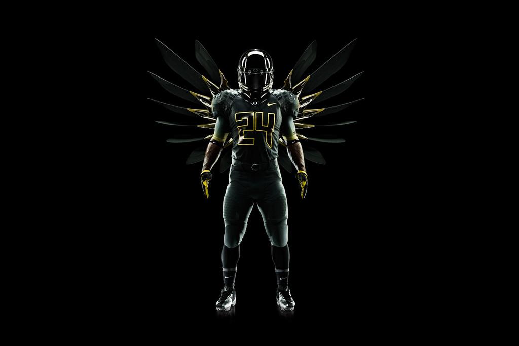 nike football pro combat system oregon ducks uniforms
