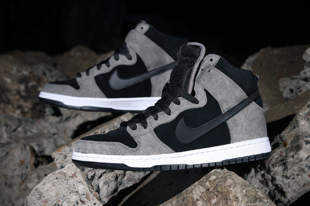 Nike SB Dunk High Pro Clay/Black-White