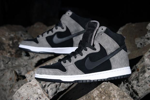 Nike SB Dunk High Pro Clay/Black-White