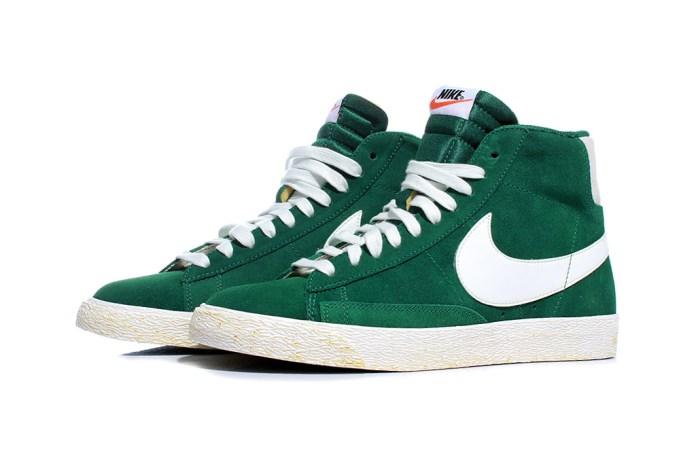 """Nike Sportswear Blazer High """"Gorge Green"""""""