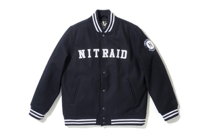NITRAID Full Melton Stadium Jumper