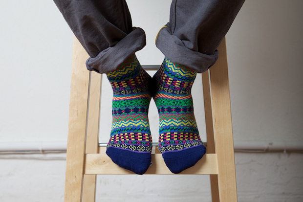noir by chup socks