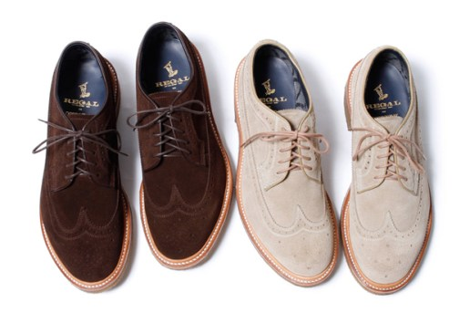 nonnative x Regal GORE-TEX 2L Cow Suede Dweller Wingtips