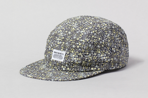 "Norse Projects 2011 Holiday ""Floral""  5 Panel Cap Collection"
