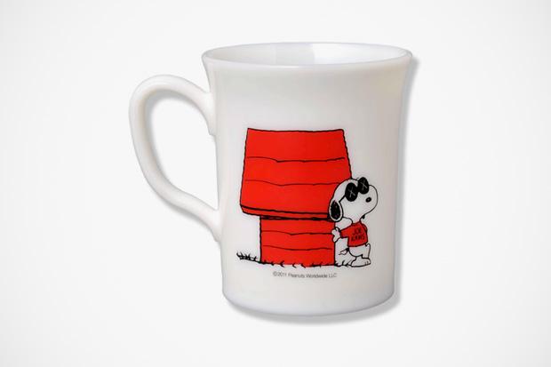 originalfake x peanuts joe kaws mug