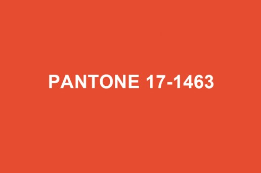 Pantone 2012 Color of the Year: Tangerine Tango