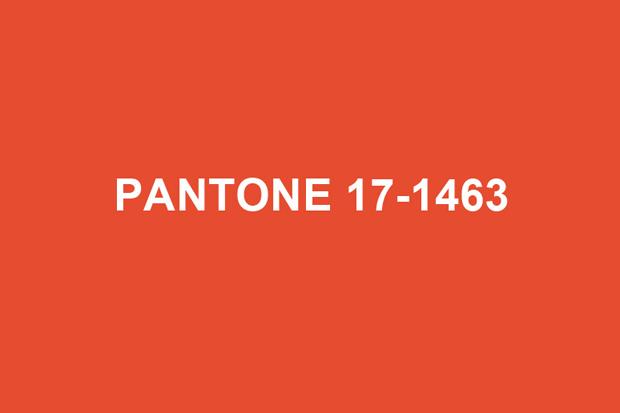 Pantone 2012 Color Of The Year Tangerine Tango Hypebeast