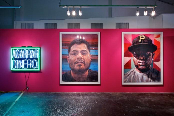"Patrick Martinez ""Reel Tawlk"" Exhibition @ Loft in Space"
