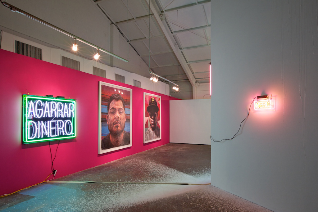 patrick martinez reel tawlk exhibition loft in space 2