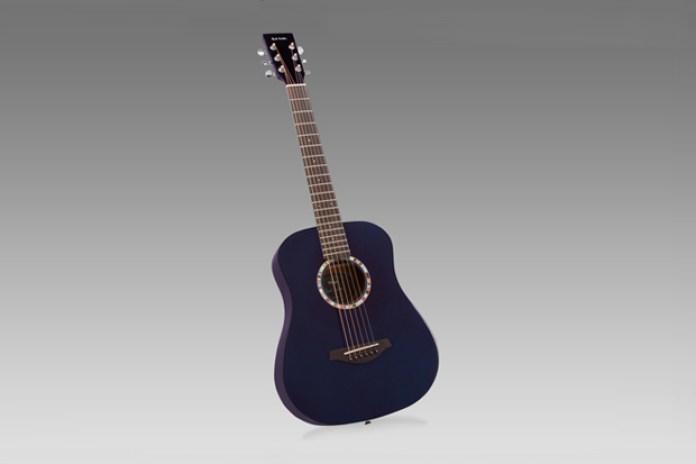 Paul Smith x Vintage Guitars Purple Travel Acoustic Guitar