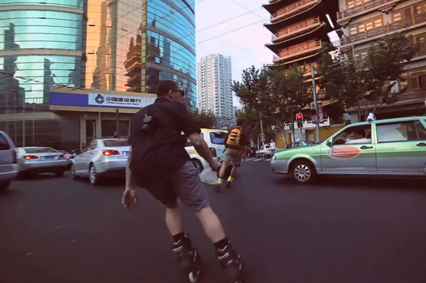 Pierre Lelievre & Anthony Finocchiaro in China Video