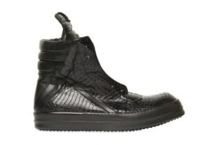 Rick Owens Watersnake Geobasket Sneaker