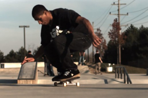 Robbyn Magby: 720 Double Kickflip @ 1000 fps Slow Motion