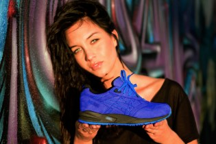 "Ronnie Fieg x ASICS Gel Saga II ""Mazarine Blue"" Lookbook"