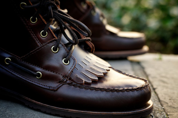 ronnie fieg for sebago kings point boot