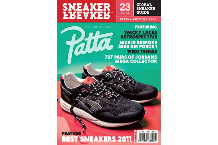 Sneaker Freaker Issue 23 Patta x ASICS Gel Saga Cover