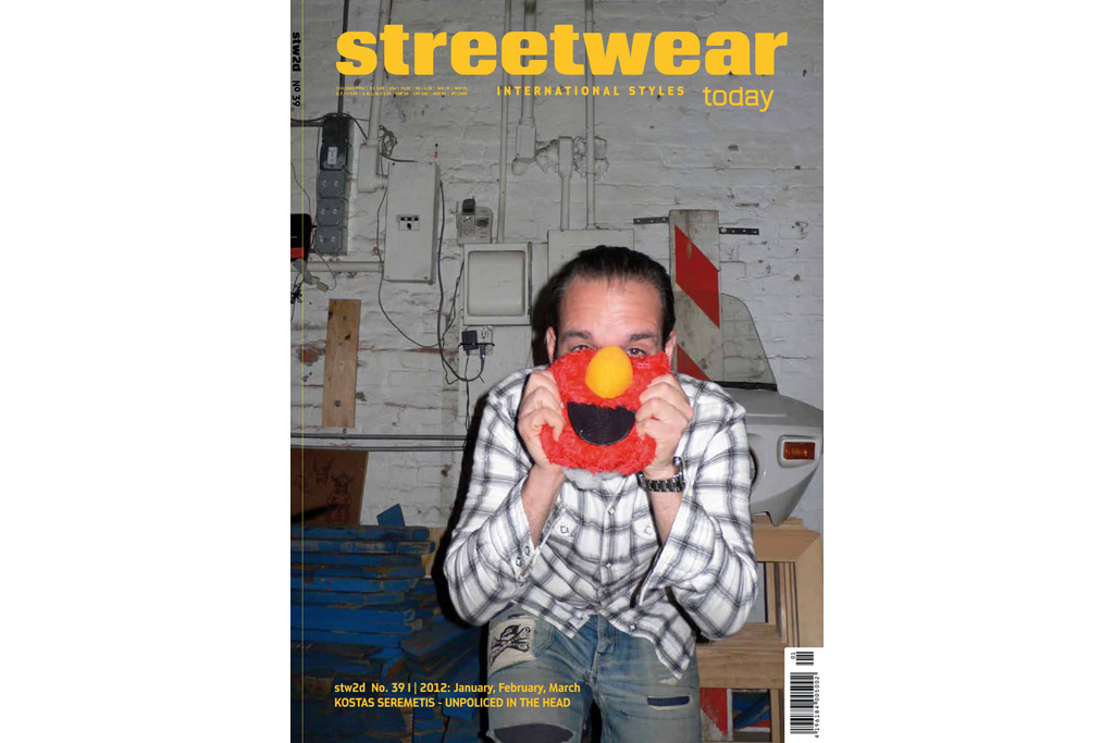 Streetwear Today Issue 39: Kostas Seremetis - Unpoliced in the Head