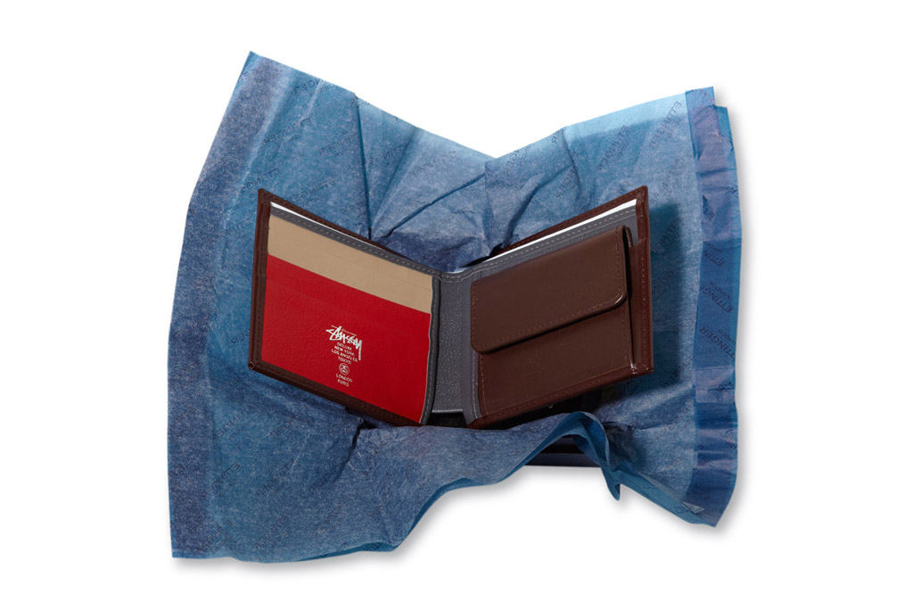 Stussy Deluxe x Ettinger Leather Wallets