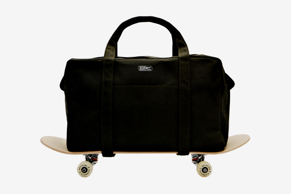 stussy livin general store x tembea skate duffel bag