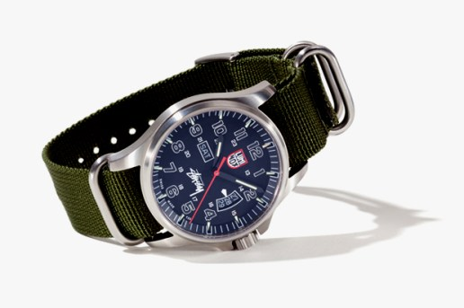 Stussy x Luminox Field Military Watch