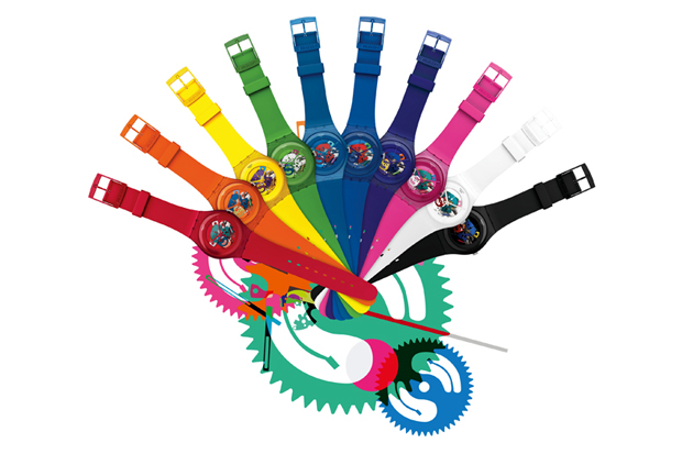 swatch 2012 new gent lacquered collection