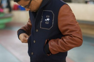 "The Brooklyn Circus ""Shelby Blues"" Varsity Jacket"