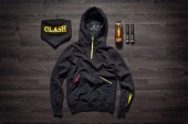 The Clash x IUTER Paint Sweater