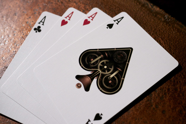 theory11 x Bicycle Steampunk Playing Cards