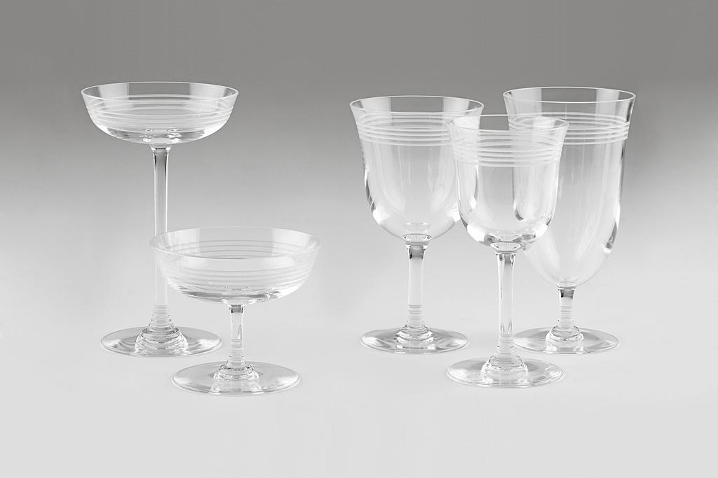 Thom Browne Baccarat Crystal Stemware Set