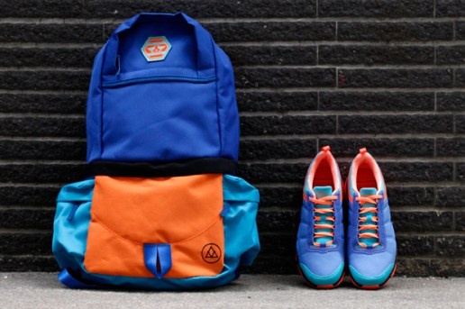 "VEIL x adidas ""Purple Swamphen"" Oscillate Warm Trail Runner"