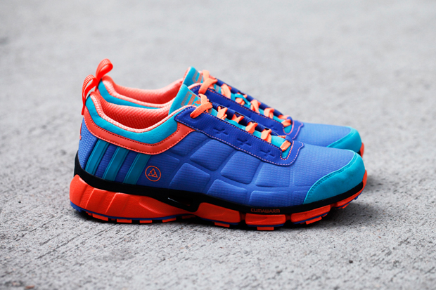"VEIL x adidas ""Purple Swamphen"" Oscillate Warm Trail Runner"