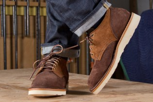 Viberg Old Oxford Two Tone Suede