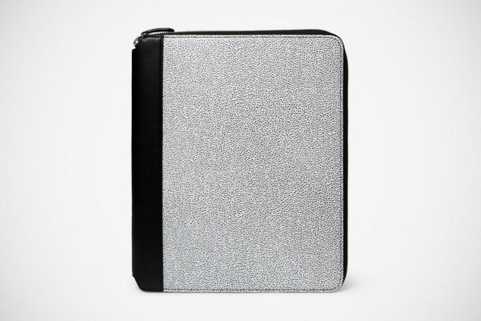 WANT Les Essentiels de la Vie Narita Textured Leather iPad 2 Case
