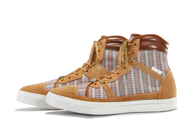 white mountaineering 2012 springsummer footwear collection