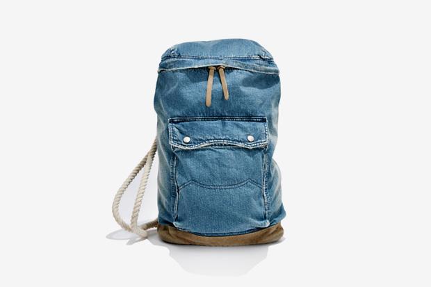 White Mountaineering x Porter USED DENIM ONE SHOULDER BAG