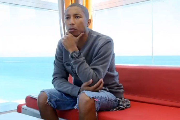 Whitewall: Pharrell Williams @ Art Basel Miami 2011 Video