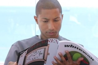Whitewall: Pharrell Williams in Art Basel Miami 2011 Video Teaser