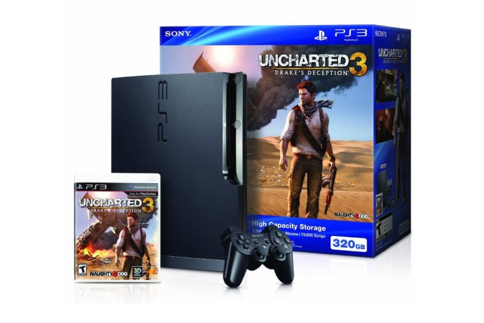 Win a 320GB PlayStation 3 Uncharted 3 Bundle!