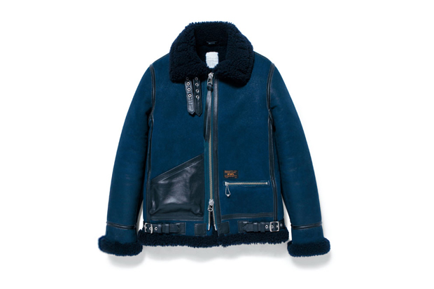 WTAPS B-3 Sheepskin Jacket
