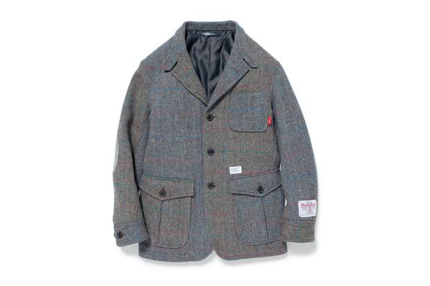 harris tweed x wtaps bullitt jacket