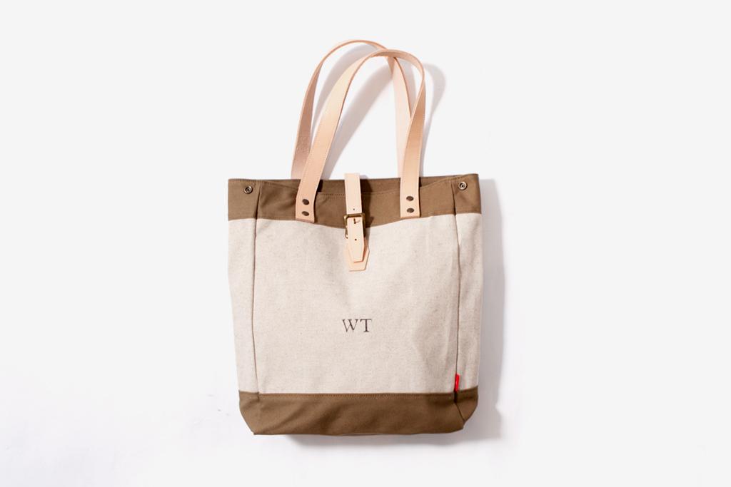 WTAPS Canvas Tote Bag