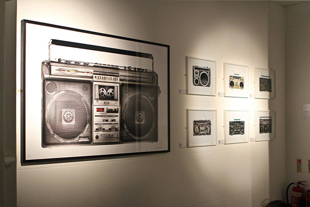 """XOYO & The Whisper Gallery Present: """"The Boombox"""" by Lyle Owerko Exhibition Recap"""