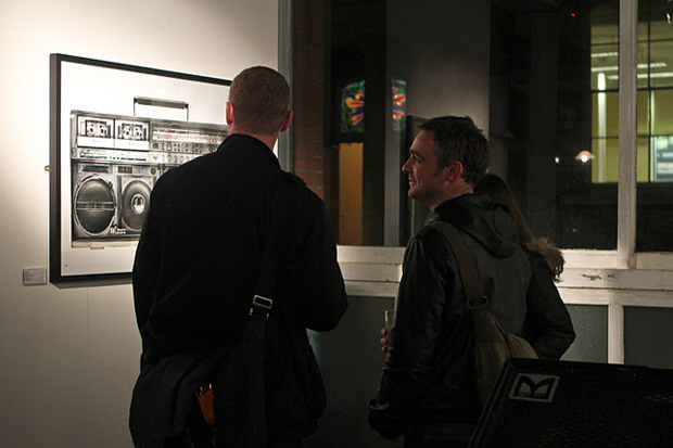 xoyo the whisper gallery present the boombox by lyle owerko exhibition recap