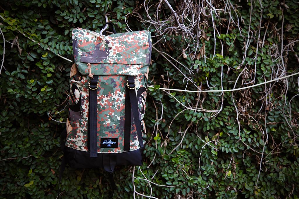 10 deep flectarn camo division daypack