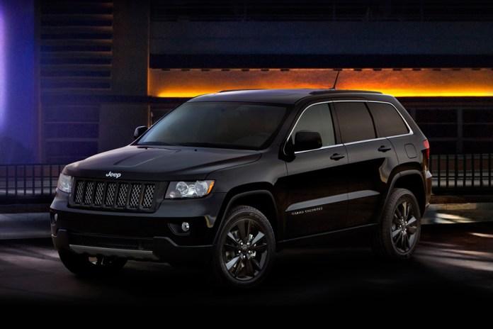 2012 Jeep Grand Cherokee All-Black Edition