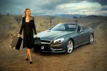 2012 Mercedes-Benz SL Roadster x Lara Stone: American Fairytale
